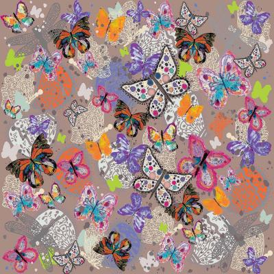 DiaNoche Designs Artist | Julie Ansbro - Butterflies Brown