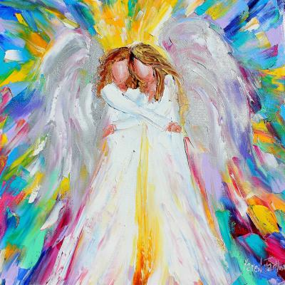 DiaNoche Designs Artist | Karen Tarlton - Angel Hugs 2