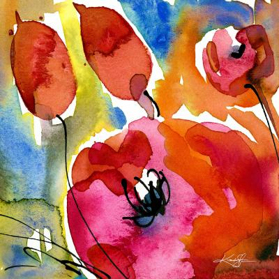 DiaNoche Designs Artist | Kathy Stantion - Abstract Florals 38
