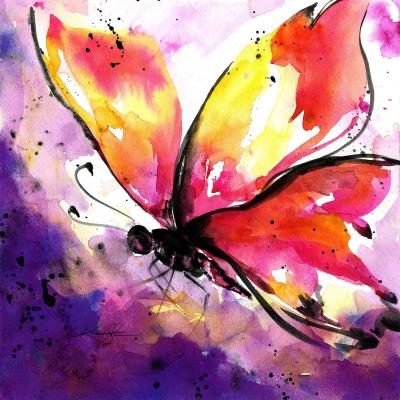 DiaNoche Designs Artist | Kathy Stanion - Butterfly Abstract