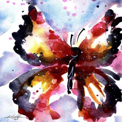 DiaNoche Designs Artist | Kathy Stanion - Butterfly Delight XVIII
