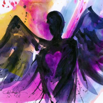 DiaNoche Designs Artist | Kathy Stanion - Angel 25