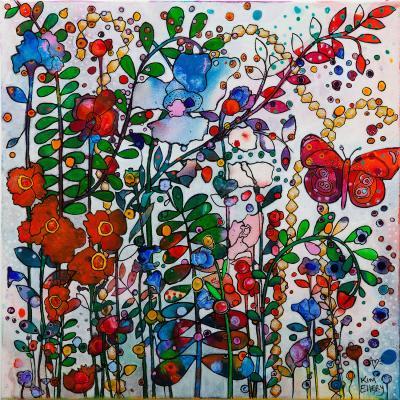 DiaNoche Designs Artist | Kim Ellery - Butterfly Garden