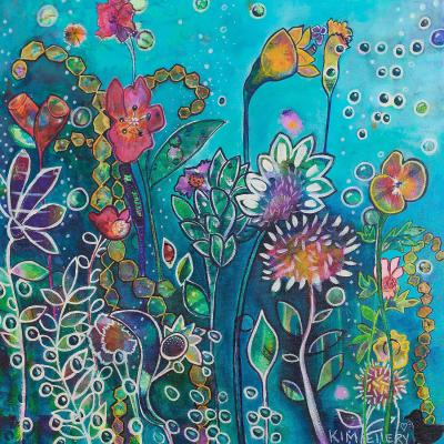 DiaNoche Designs Artist | Kim Ellery - Driving Into Flowers