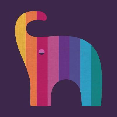 DiaNoche Designs Artist | Kim Hubball - Elephant Nursery