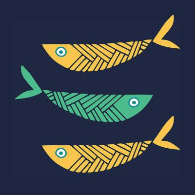 DiaNoche Designs Artist | Kim Hubball - Fish Nursery