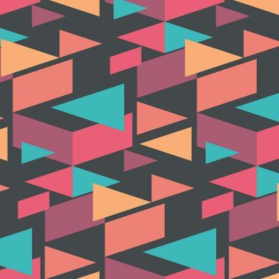 DiaNoche Designs Artist | Kim Hubball - Geotriangles 1