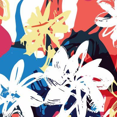 DiaNoche Designs Artist | Kim Hubball - Graffiti Flowers 1