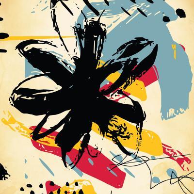 DiaNoche Designs Artist | Kim Hubball - Graffiti Flowers 2