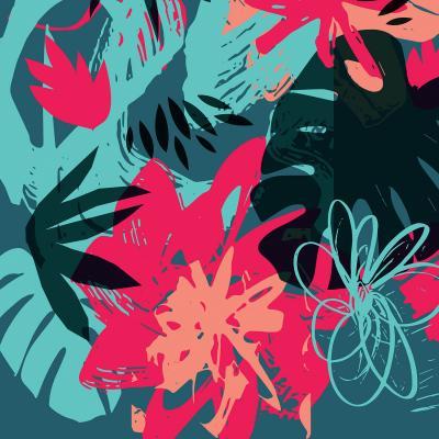 DiaNoche Designs Artist | Kim Hubball - Graffiti Flowers 4