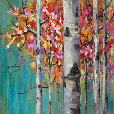 DiaNoche Designs Artist | Lam Fuk Tim - Color Birch Tree 1