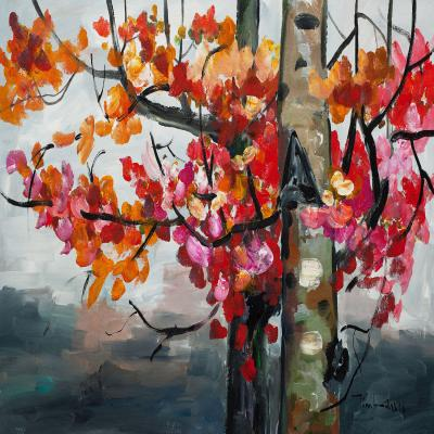 DiaNoche Designs Artist | Lam Fuk Tim - Color Birch Tree 2