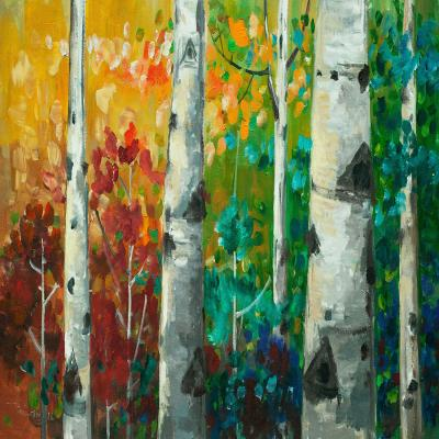 DiaNoche Designs Artist | Lam Fuk Tim - Color Birch Tree 3