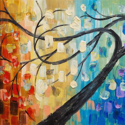 DiaNoche Designs Artist | Lam Fuk Tim - Abstract Tree