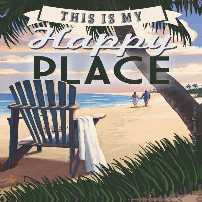 DiaNoche Designs Artist | Lantern Press - Beach Happy Place