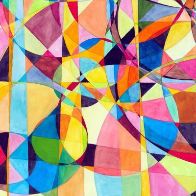 DiaNoche Designs Artist   Lorien Suarez - Geo Botanicals 10