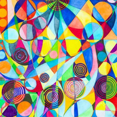 DiaNoche Designs Artist   Lorien Suarez - Geo Botanicals 23