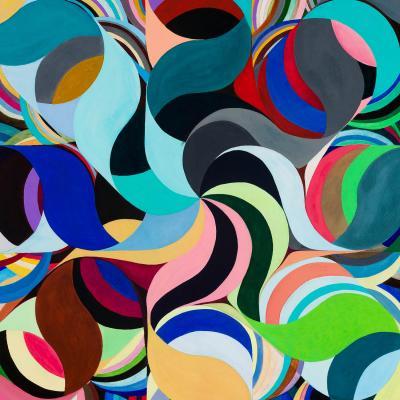 DiaNoche Designs Artist   Lorien Suarez - Geo Botanicals 27