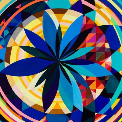 DiaNoche Designs Artist   Lorien Suarez - Geo Botanicals 29