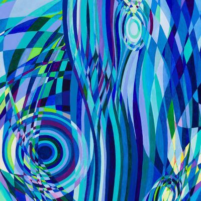 DiaNoche Designs Artist   Lorien Suarez - Geo Botanicals 32