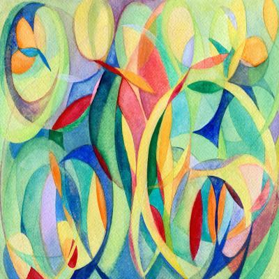 DiaNoche Designs Artist | Lorien Suarez - Water Series 14