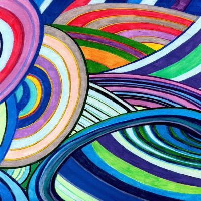 DiaNoche Designs Artist | Lorien Suarez - Water Series 15