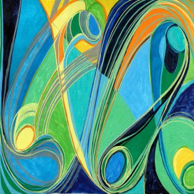 DiaNoche Designs Artist | Lorien Suarez - Water Series 3