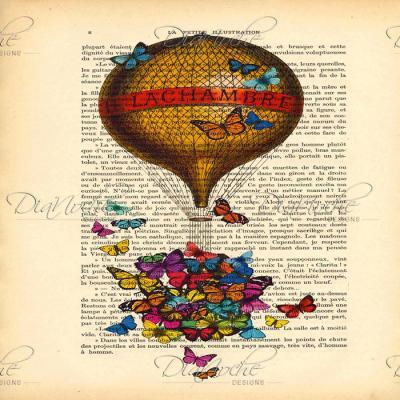 DiaNoche Designs Artist | Madame Memento - Balloon Butterflies