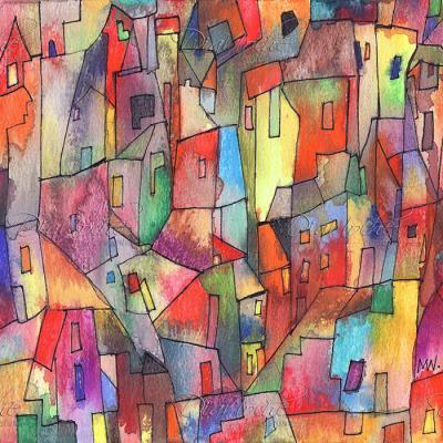 DiaNoche Designs Artist | Maeve Wright - Rainbowville