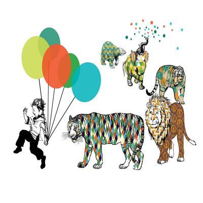 DiaNoche Designs Artist   Marci Cheary - Animal Parade