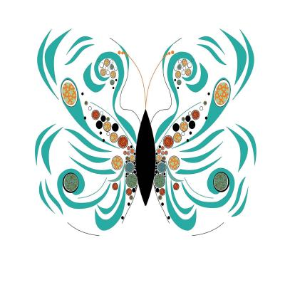 DiaNoche Designs Artist | Marci Cheary - Butterfly White