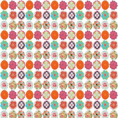 DiaNoche Designs Artist | Marci Cheary - Flower Circles Pattern