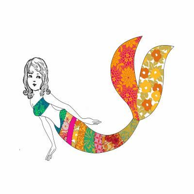 DiaNoche Designs Artist   Marci Cheary - Long Mermaid
