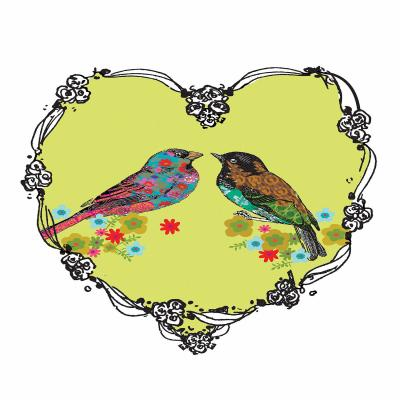 DiaNoche Designs Artist   Marci Cheary - Love Birds
