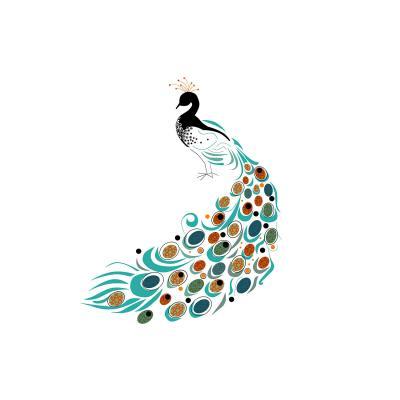 DiaNoche Designs Artist   Marci Cheary - Peacock II