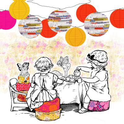 DiaNoche Designs Artist   Marci Cheary - Time for Tea