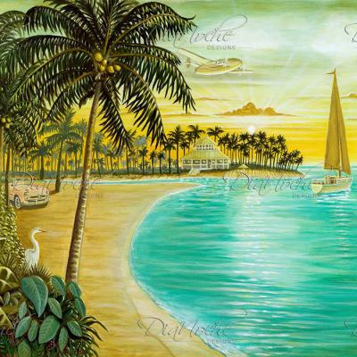 DiaNoche Designs Artist | Mark Watts - Tropic Cove