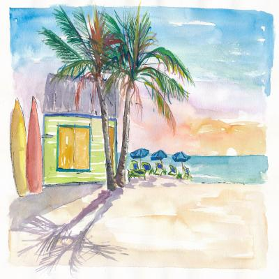 DiaNoche Designs Artist | Markus Bleichner - Caribbean Sunset 2