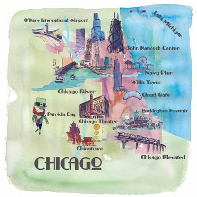 DiaNoche Designs Artist | Markus Bleichner - Chicago Tourist 2