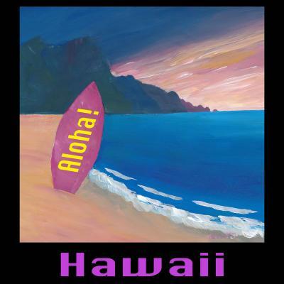 DiaNoche Designs Artist | Markus Bleichner - Hawaii Surfboard