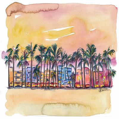 DiaNoche Designs Artist | Markus Bleichner - Miami Ocean Drive