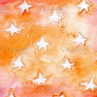 DiaNoche Designs Artist | Marley Ungaro - Artsy Orange Stars