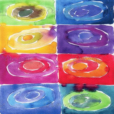 DiaNoche Designs Artist | Marley Ungaro - Artsy Rainbow Box