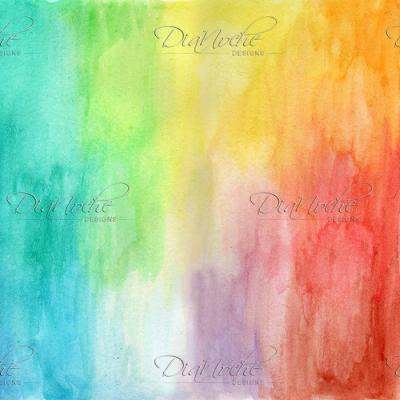 DiaNoche Designs Artist | Marley Ungaro - Artsy Rainbow Wash