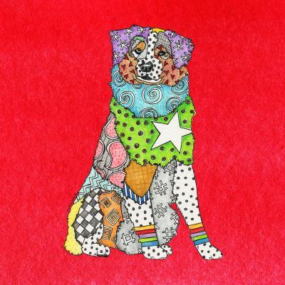 DiaNoche Designs Artist | Marley Ungaro - Australian Shepherd Red