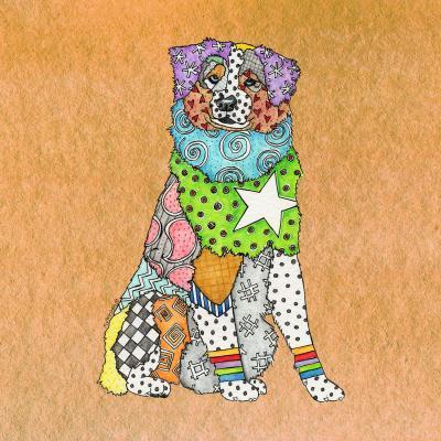 DiaNoche Designs Artist | Marley Ungaro - Australian Shepherd Tan
