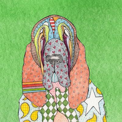 DiaNoche Designs Artist | Marley Ungaro - Bloodhound Green