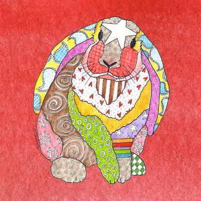 DiaNoche Designs Artist   Marley Ungaro - Bunny Watermelon