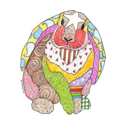 DiaNoche Designs Artist   Marley Ungaro - Bunny White