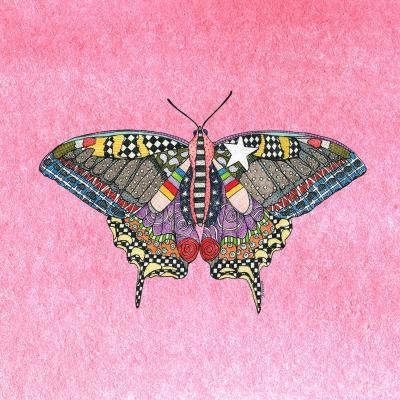 DiaNoche Designs Artist   Marley Ungaro - Butterfly Light Pink